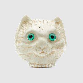 GUCCI - Cat head brooch
