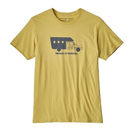 patagonia - M's Repair Is Radical Organic T-Shirt, Limestone (LMST)
