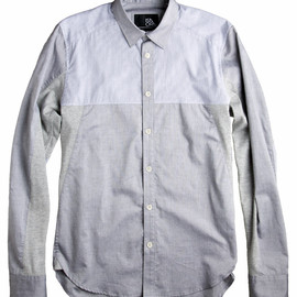 ISAORA - Geo-Panel Shirt