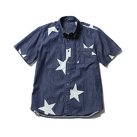 SOPHNET. - Big star Denim B.D shirt