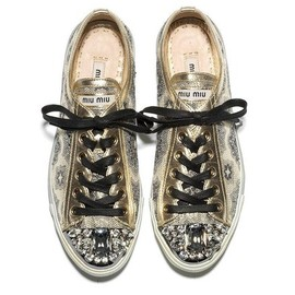 miu miu - Super Sparkly Sneakers