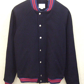 BAND OF OUTSIDERS - MELTON VARSITY JKT