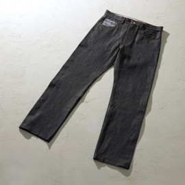 CASH CA - TRICOLORE LINE DENIM PANTS