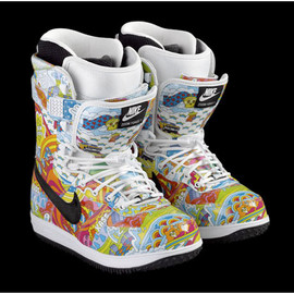 nike snowboarding - Danny Kass Double Tongue Zoom Force 1 Boots DK-YS