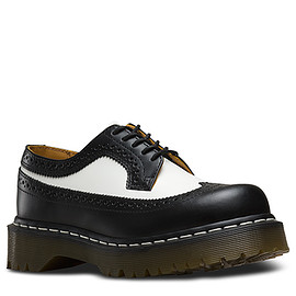 Dr.Martens - 3989 BROGUE SHOE BEX 34 F WT BLACK & WHITE 10458001