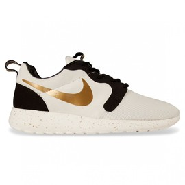 Nike - Roshe Run HYP - Ivory/Metallic Gold