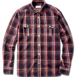 KITSUNE - Plaid Flannel Shirt