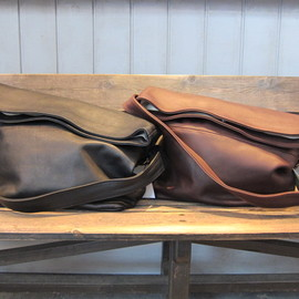 TEMBEA - Messenger Bag Midium/Leather