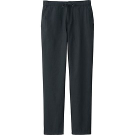 UNIQLO - Cotton Linen Relaxed Pants