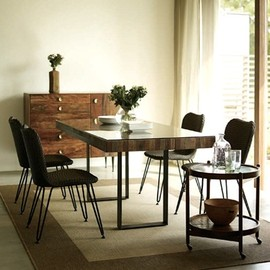 bina - bina (ビーナ) GRAHAM DINING TABLE W180×D85×H74cm