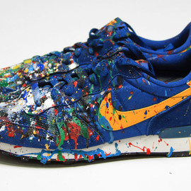 Mr. Brainwash - MBW Shoe - Blue