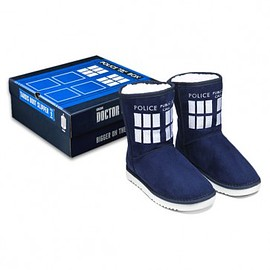 Doctor Who - THE WHO SHOP,TARDIS Slipper Boots