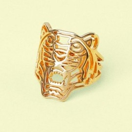 KENZO - 2013/SS■KENZO■Gold-plated Tiger Ring