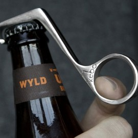 Kebo - One-Handed Bottle Opener