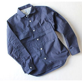 kato' AAA - Round Collar Military Shirt Jacket