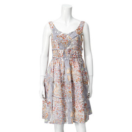 CARVEN - PARIS COTTON PRINT DRESS