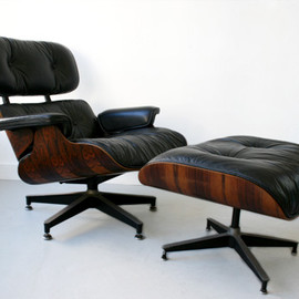Herman Miller - 70's eames lounge chair and ottoman