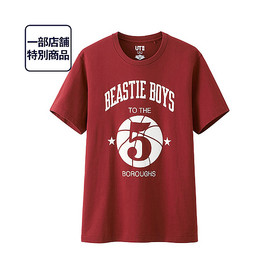 UNIQLO - M Music IconsグラフィックT(Beastie Boys・半袖)S17