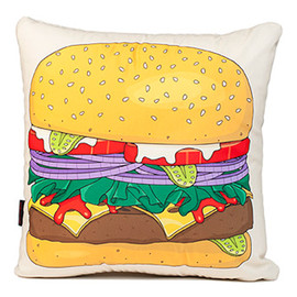 WOOUF! - Burger Cushion
