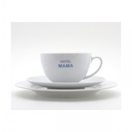 HOTEL MAMA - Cup and Saucer