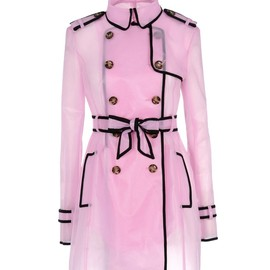 RED VALENTINO - Double breasted trench coat