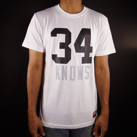 Nike - 34 Knows Tee - White/Black