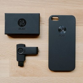Bang & Olufsen - BeoPlay iPhone Case & usb memory