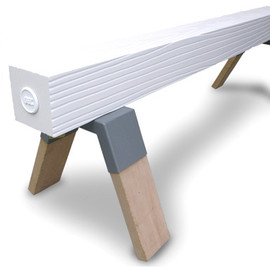 GELCHOP - Material series~FAKE WOOD SAW HORSE BENCH