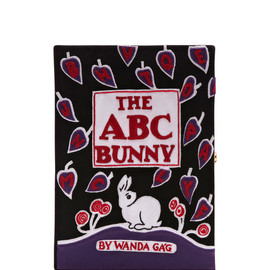 OLYMPIA LE-TAN - The Abc Bunny Leather Book Clutch
