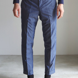 RAINMAKER KYOTO - ANKLE TROUSERS/TWILIGHT