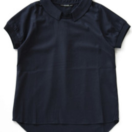 P.A.M. - Meso Collared Top (navy)