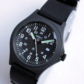 "MWC - MWC ""G1012-24PVD11 Military Watch"" black"