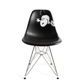 "HERMAN MILLER - EAMES SHELL CHAIR ""SNOOPY"""