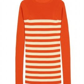 Stella McCartney  - COLOUR PLAY STRIPED KNIT PULLOVER