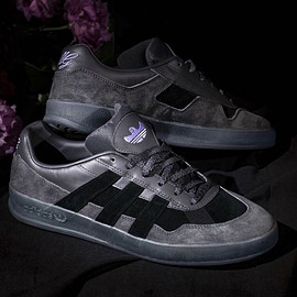 adidas, adidas Skateboarding, Mark Gonzales - Aloha Super - Utility Black/Core Black/Light Purple