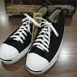 CONVERSE - JACK PURCELL BLACK(MADE IN USA)