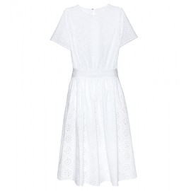 VALENTINO - SS2015 Cotton-blend broderie anglaise dress