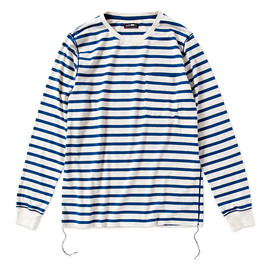 CASH CA - stripe long sleeve tee