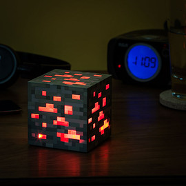 ThinkGeek - Minecraft Light-Up Redstone Ore