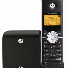 Motorola - MOTOROLA L301 DECT 6.0 Cordless Phone with Caller ID (1 Handset System) 【並行輸入】
