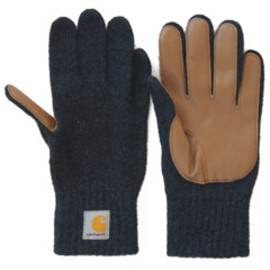 carhartt - Logg Glove (navy heather/camel)