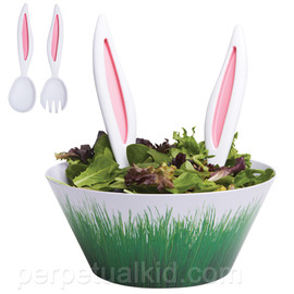 RABBIT EARS SALAD SERVERS