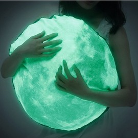 Glow-in-the-Dark Moon Cushion