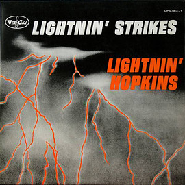 Lightnin' Hopkins ‎ - Lightnin' Strikes (Vinyl,LP)