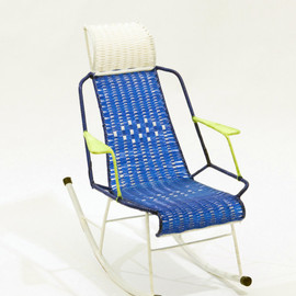 MARNI - 100 chairs: CHILDREN ROCKING ARM CHAIR