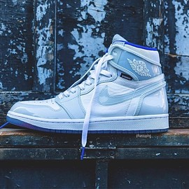 NIKE - Nike Air Jordan 1 High Zoom R2T Racer Blue