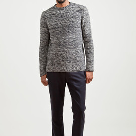 MARNI - Wool and Cashmere Sweater Night Blue