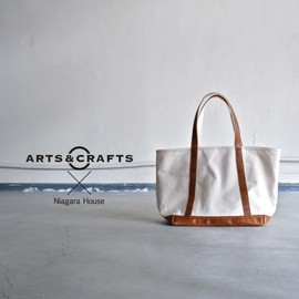 ARTS&CRAFTS - BASIC TOTE (ORGANIC COTTON CANVAS)