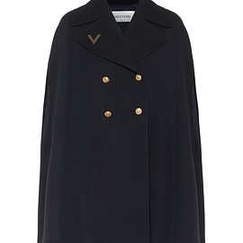 VALENTINO - Wool cape