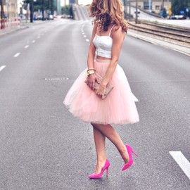 pink - street style
